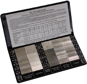 Surface Roughness Comparison Chart