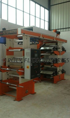 Poly Flex Stainless Steel Flexo Printing Machine, for Paper