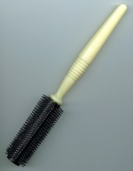 Black And Cream Hair Brush