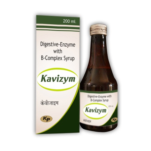 Digestive Enzyme Digestive Enzymes With B Complex Syrup