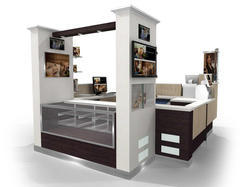 Kiosk designing services in india for Architecture kiosk design