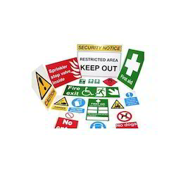 Safety Warning Sticker Printing Service