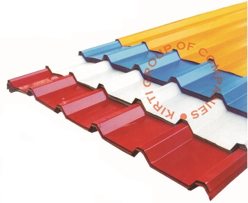 Corrugated Roofing Sheet And Trapezoidal Profile Roof
