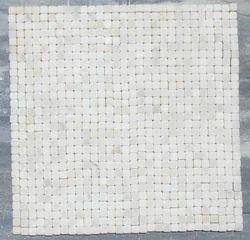 White Stone Mosaic Tile