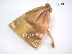 Tissue Potli with Brocade Border