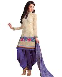 Ladies Cotton Suit in Jamnagar, Gujarat, Women Cotton Suit ...