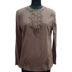 Neck Embroidered Kurtis