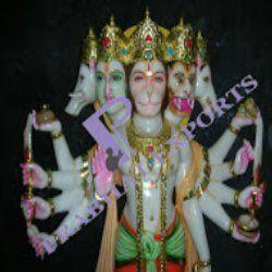 Marble Hanuman Statue Lord Hanuman Statue Exporter From