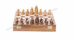 Wooden Maharaja Chess