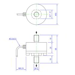 Load Cell Tension Low Profile