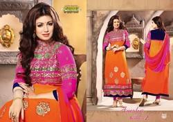 Long Pakistani Ladies Salwar Kameez Designer Suits