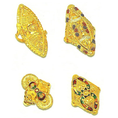 Gold Finger Rings Gold & Gold Jewellery