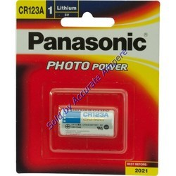 Panasonic Cr123a 3v Lithium Photo Battery