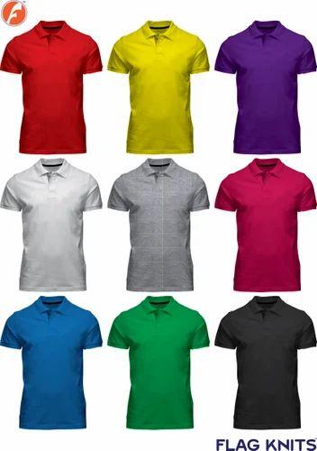 f9a9c84bd Plain Polo T-Shirts at Rs 155 /pieces | Gents T-Shirts, Men T shirts ...