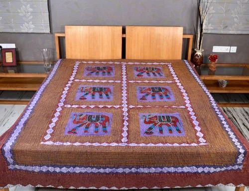 Handloom Bed Sheets Bed Sheets Manufacturer From New Delhi