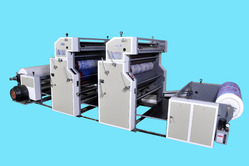 Bpl Reel To Reel Non Woven Fabric Printing Machine