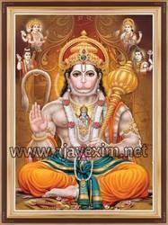 Lord Jai Hanuman Wall Poster