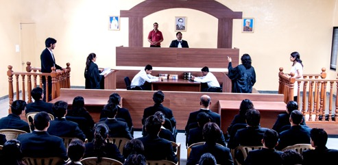 Moot Court Room Law College, Law College - Balaji Law College, Pune