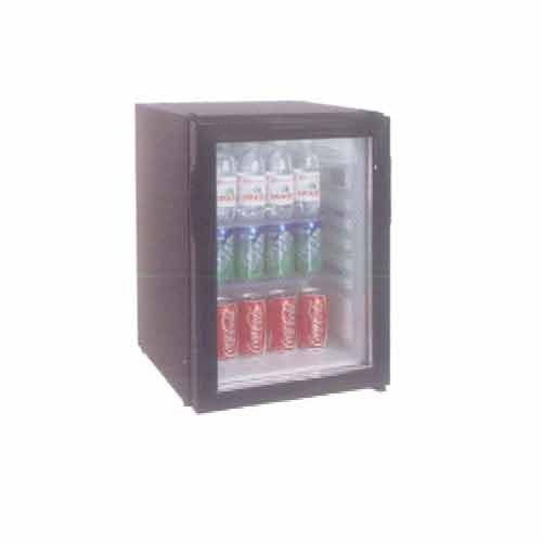 Elanpro Black Glass Door Mini Bar Refrigerator Rb 41g 2c To 8c