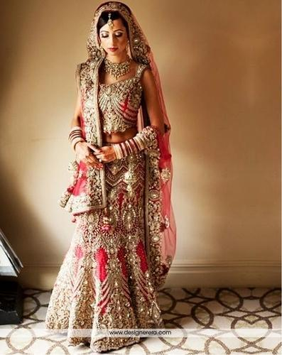 Heavy Embroidered Bridal Lehenga Darshan Lal Amp Company