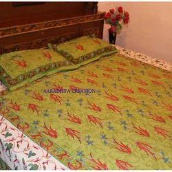 Screen Print Bed Sheet