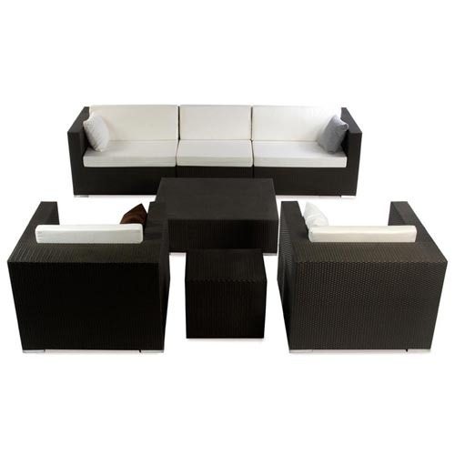 Alcanes Continental Set (2 + 1 + 1 Seater)