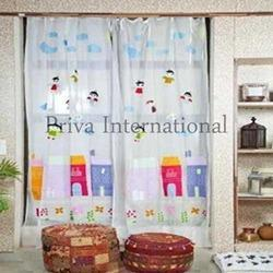 Kids Door Curtain