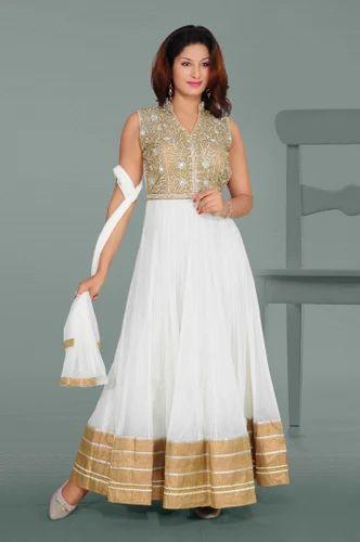 44a07800e0c White Fancy Ladies Gown