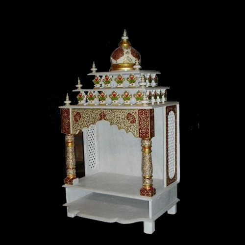 Shree Siddhi Vinayak White Marble Temple Rs 51000 Piece