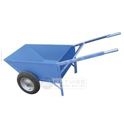 Double Wheel Barrow with Scooter Wheel