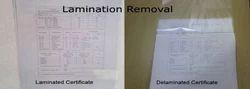 Lamination Removal