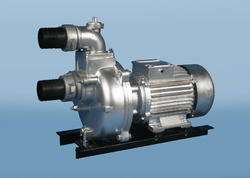 Single Phase Green Pumps Self Priming Dewatering Pump, Max Flow Rate: 250 - 70 Lpm, Electric