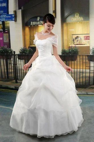 Stylish Wedding Gown, Party, Wedding, Western, Formal Wear ...