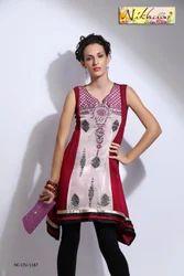 Trendy Designer Party Wear Ladies Tunic Kurti Top