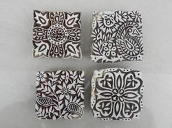 Mixed Floral Printing Block