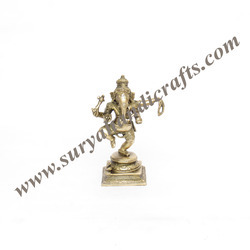 Brass Stand Ganesh