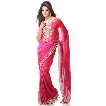 fe96e07876b77 Designer Fancy Saree