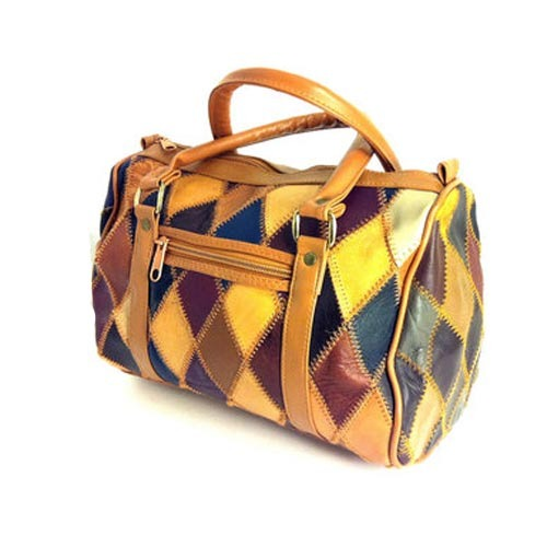 Patchwork Leather Handbag