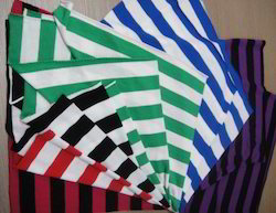 Striped Cotton Fabric, Packaging Type: Roll, GSM: 100-150