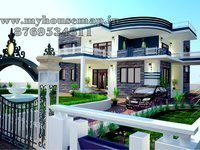Astonishing Exterior Design House Design Service Provider From Jaipur Largest Home Design Picture Inspirations Pitcheantrous