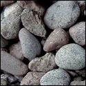 Dark Colored River Bed Pebbles