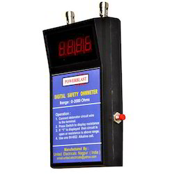 Powerblast Digital Safety Ohmmeter