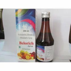 Belorich Multivitamins, Minerals Syrup, 200 Ml, Prescription