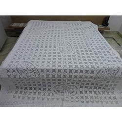 Applique Cutwork Bed Sheets