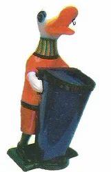 Cartoon Dustbin