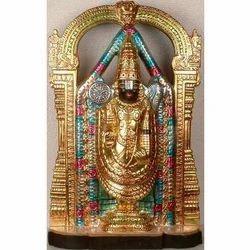 Marble Venkateswara Statue
