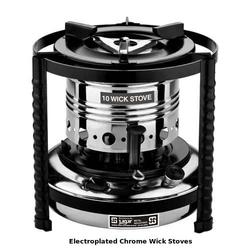 Electroplated Chrome Wick Stoves