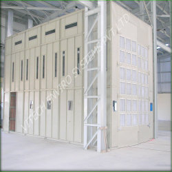 Cross Draft Paint Booths