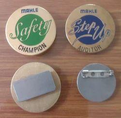 Brass Pocket Badges