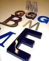 3D Copper Letters